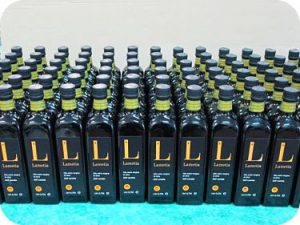 Olio extravergine di oliva tesoridelsole imbottigliamento