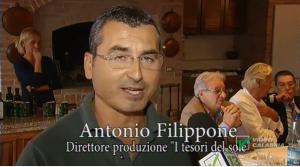 "Olio extra vergine ""i Tesori del Sole"" missione incoming brasile agronomo Filippone"