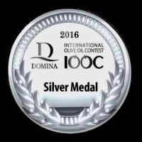 """Silver Medal al DIOOC 2016 per l'olio extravergine di oliva """"i Tesori del Sole"""""""