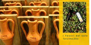 "L'olio extravergine ""i Tesori del Sole"" Lametia Dop al TerraOlivo 2016"