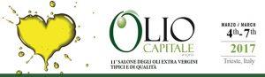 """L'olio extravergine """"i Tesori del sole"""" ad Olio Capitale 2017."""